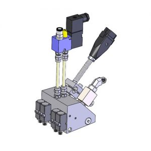 4 moduliger Microauftragskopf;M104;